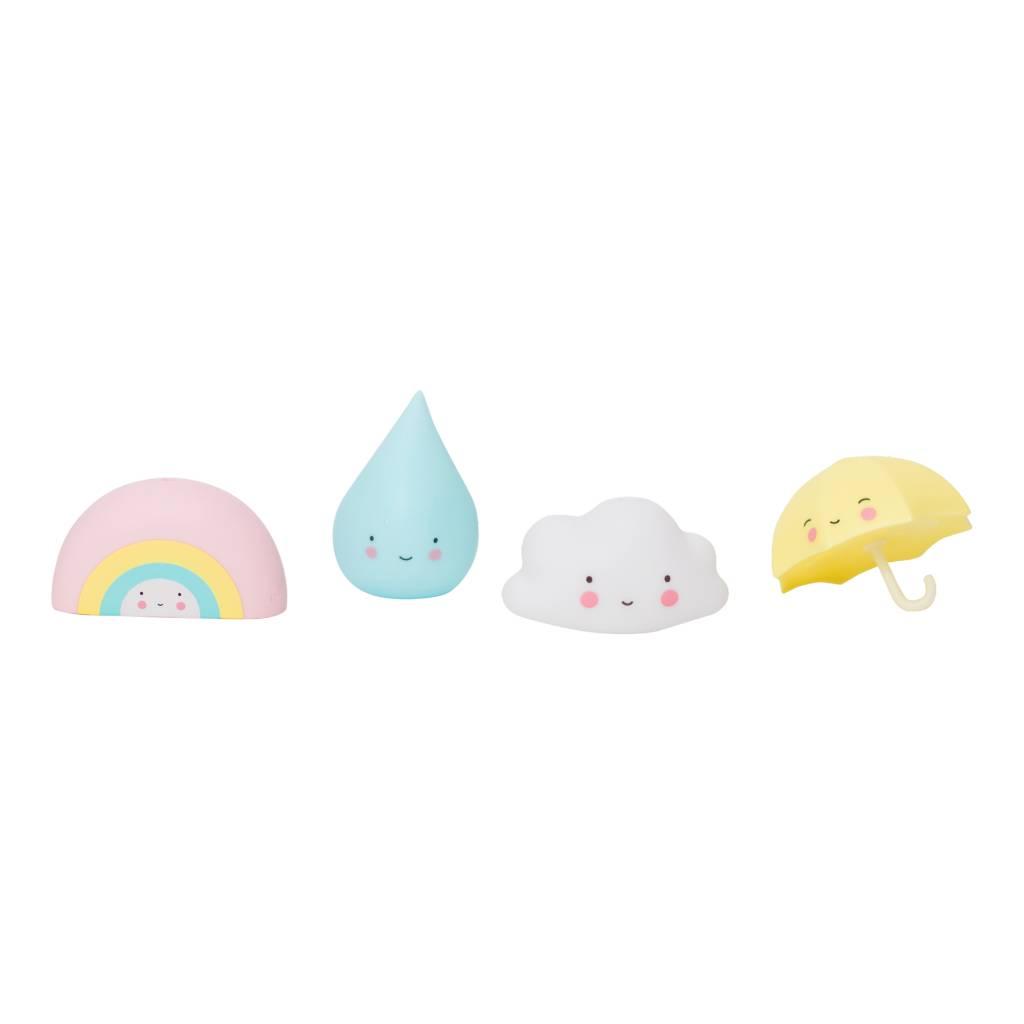 Little Lovely Rainbow Bath Toy