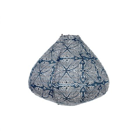 Indaba Azul Cotton Lamp Shade