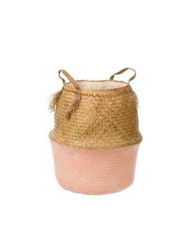 Indaba Tall Pink Basket