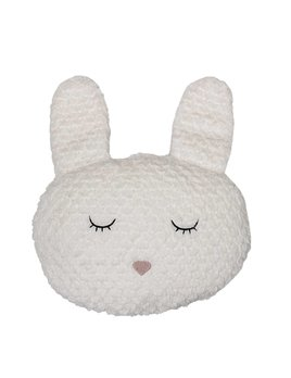 Bloomingville Coussin Lapin Blanc