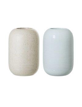 Bloomingville Textured Stoneware Vase