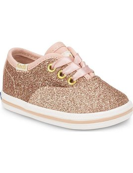 Rifle x Keds Chaussures Bébé Brillants Rose Gold