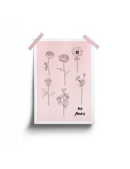 Fleur Maison Affiche Les Fleurs