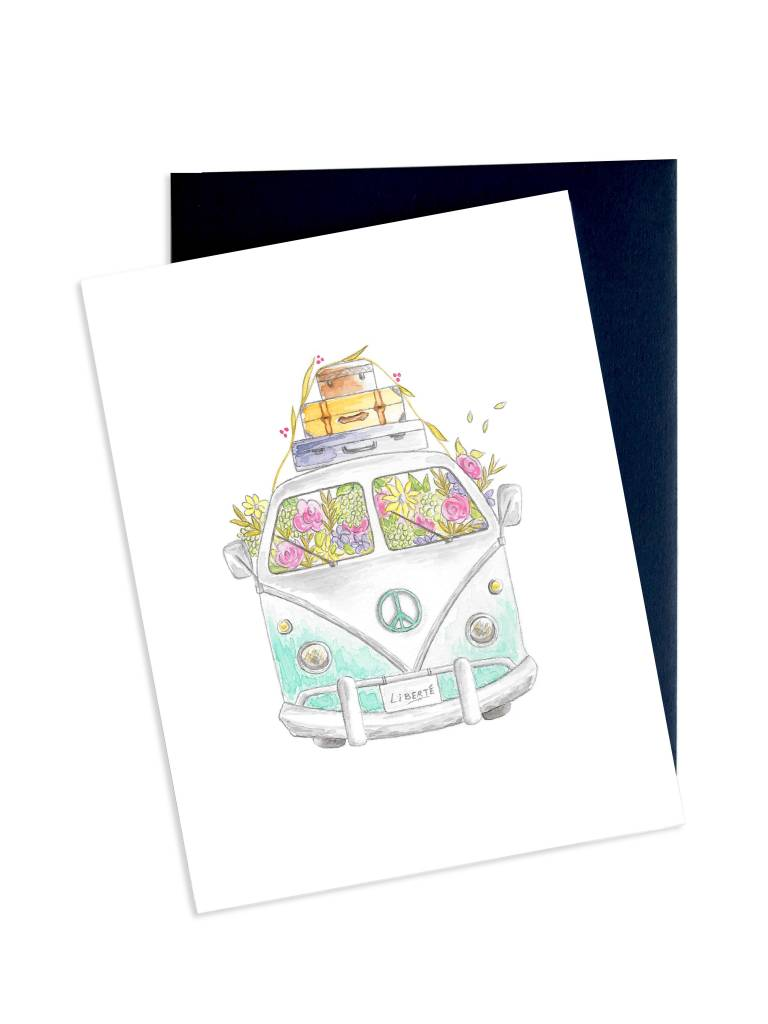 Hobeika Art Happy Van Card