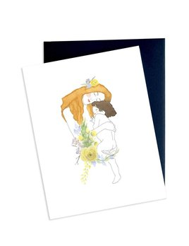 Hobeika Art Klimt Motherhood Card