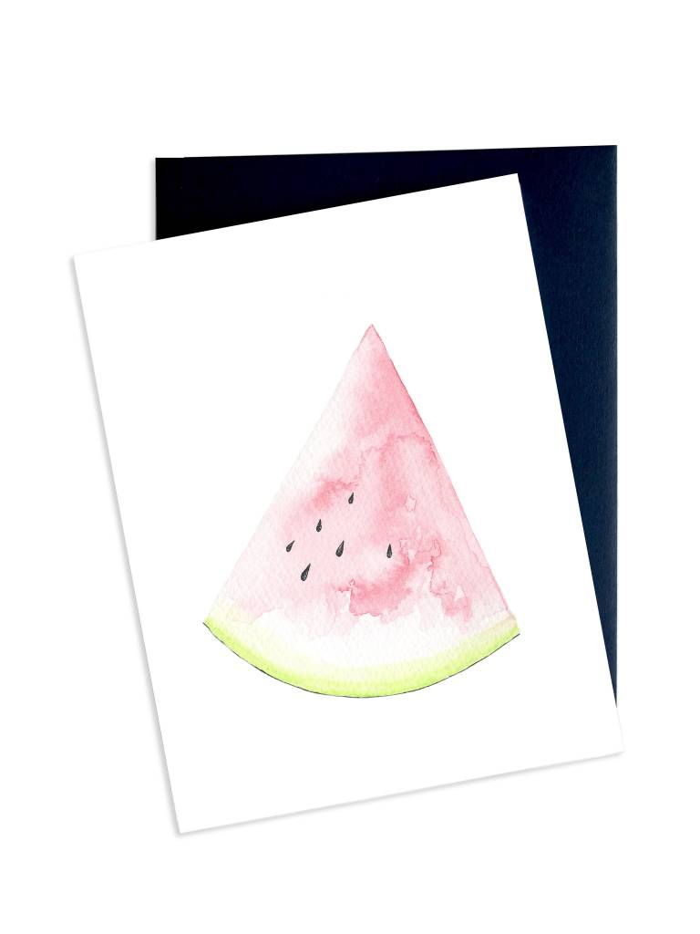 Hobeika Art Watermelon Card