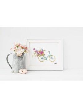 Hobeika Art Affiche Bicyclette