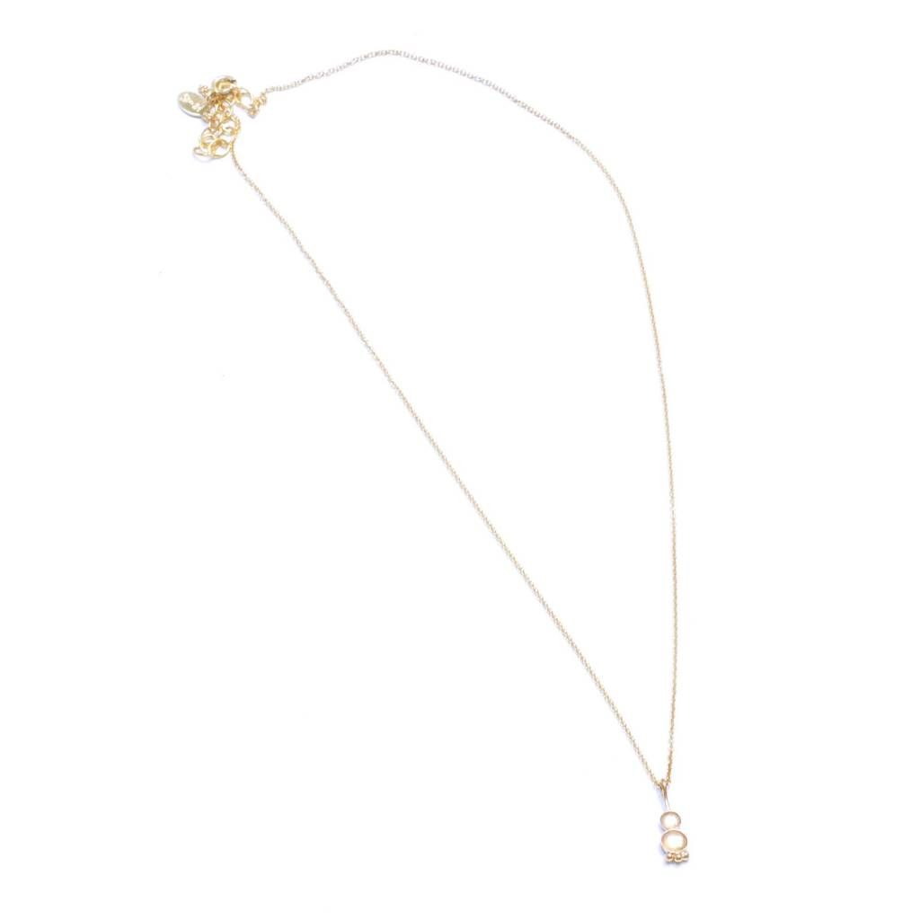 Hart and Stone Spud Moonstone Necklace