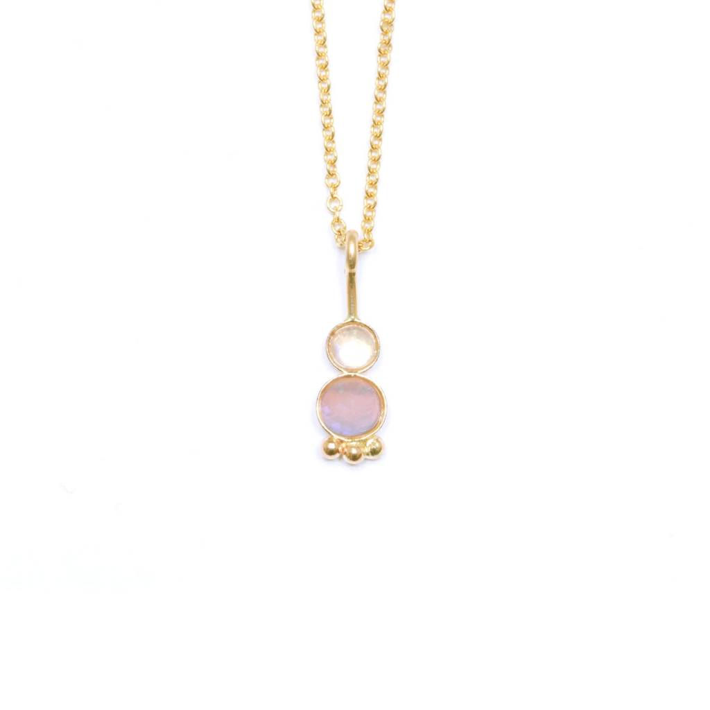 Hart and Stone Spud Opal Necklace