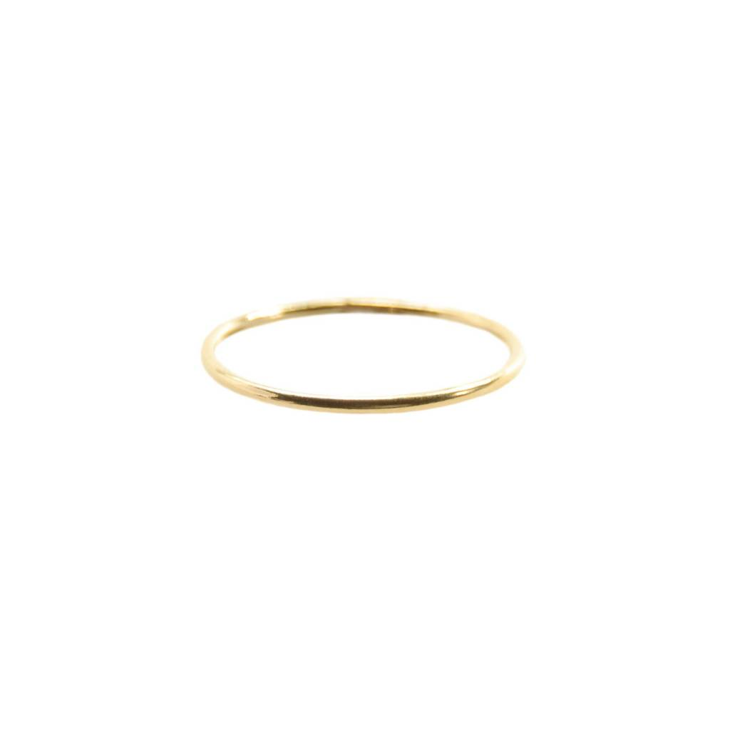 Hart and Stone Gold Smooth Stacking Ring