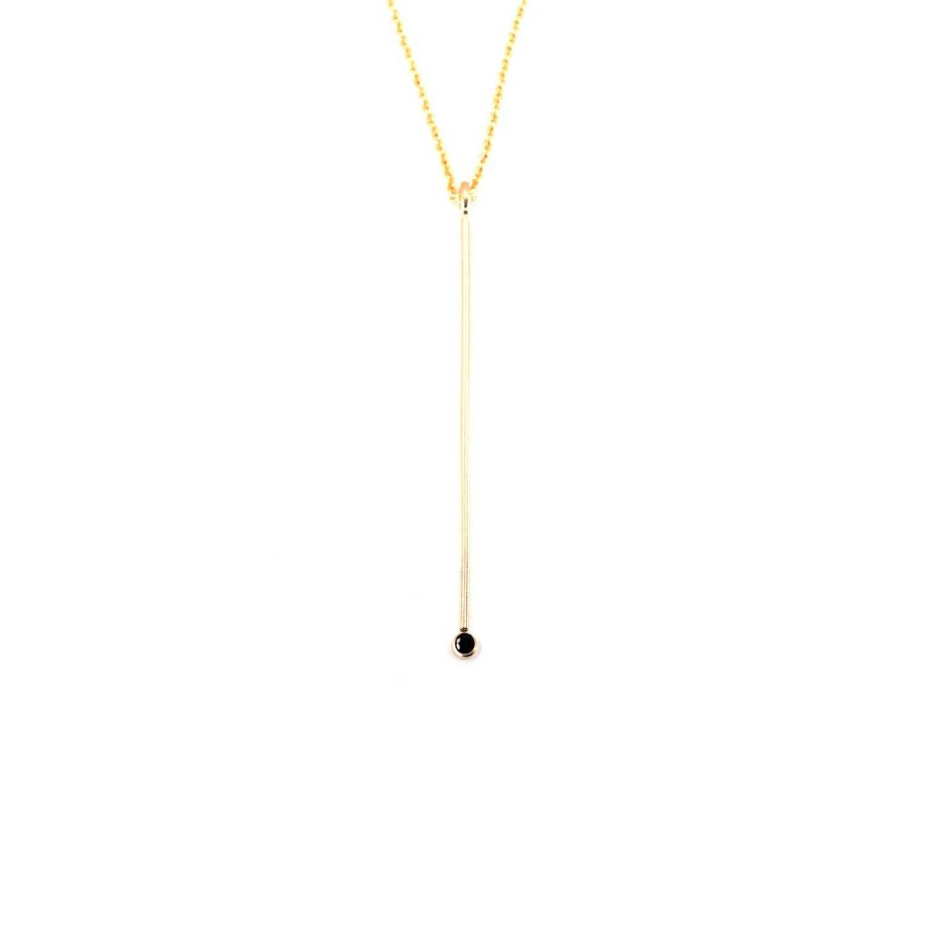 Hart and Stone Gold Honey Necklace