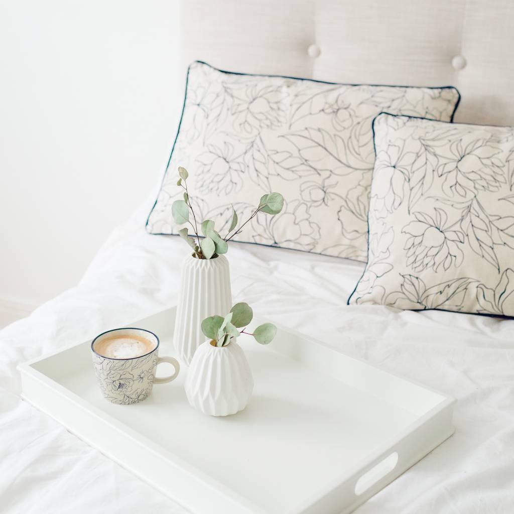 Bloomingville Petit Vase Blanc Mat