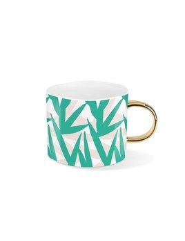 Fringe Studio Green Leaves Mug