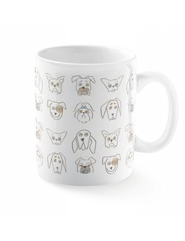 Fringe Studio Tasse Griffonnages Canins