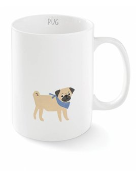 Fringe Studio Happy Pug Mug