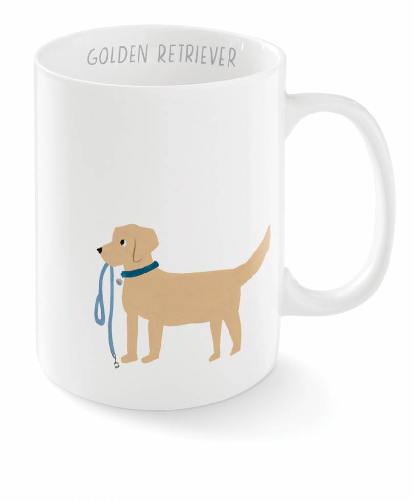 Fringe Studio Happy Golden Mug