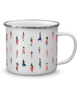Fringe Studio Women Enamel Mug