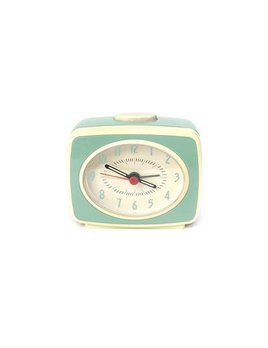 Kikkerland Mint Alarm Clock