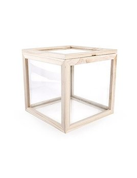 Kikkerland Square Glass Box