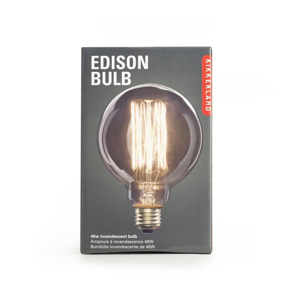 Kikkerland Edison Bulb