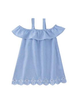 Mud Pie Chambray Juniper Dress