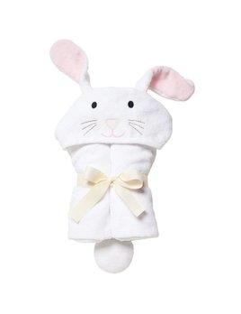 Elegant Baby Bunny Hooded Towel