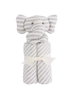 Elegant Baby Couverture Rayée Éléphant
