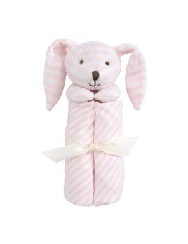 Elegant Baby Bunny Striped Blankie