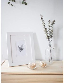 Natasha Prévost Illustrations Fern Framed Print