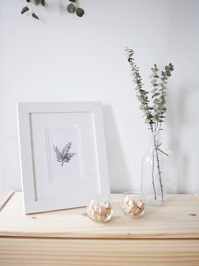 Natasha Prévost Illustrations Fern Framed Print