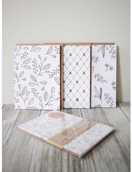 Natasha Prévost Illustrations Cartes de Souhaits Florales