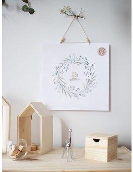 Natasha Prévost Illustrations Affiche Petit Singe