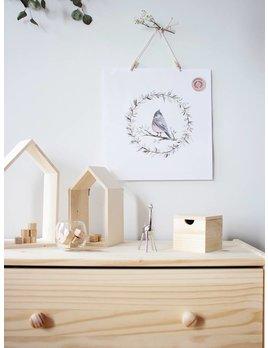 Natasha Prévost Illustrations Affiche Petit Oiseau