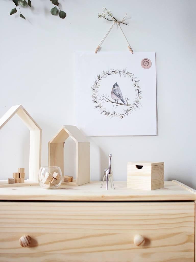 Natasha Prévost Illustrations Little Bird Print