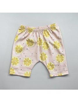 Wylo&Co Lemons Printed Shorts