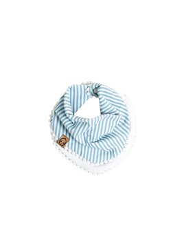 Bajoue Blue Striped Scarf