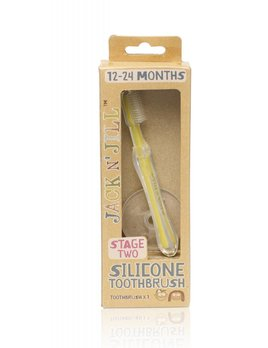 Jack'N Jill Silicone Baby Toothbrush