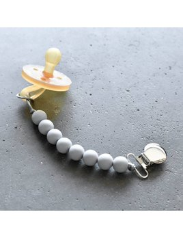 Otherware Grey Pacifier Clip
