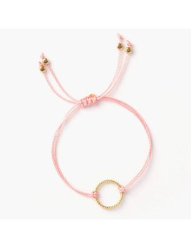 Si Simple Gold and Watermelon Isabel Bracelet