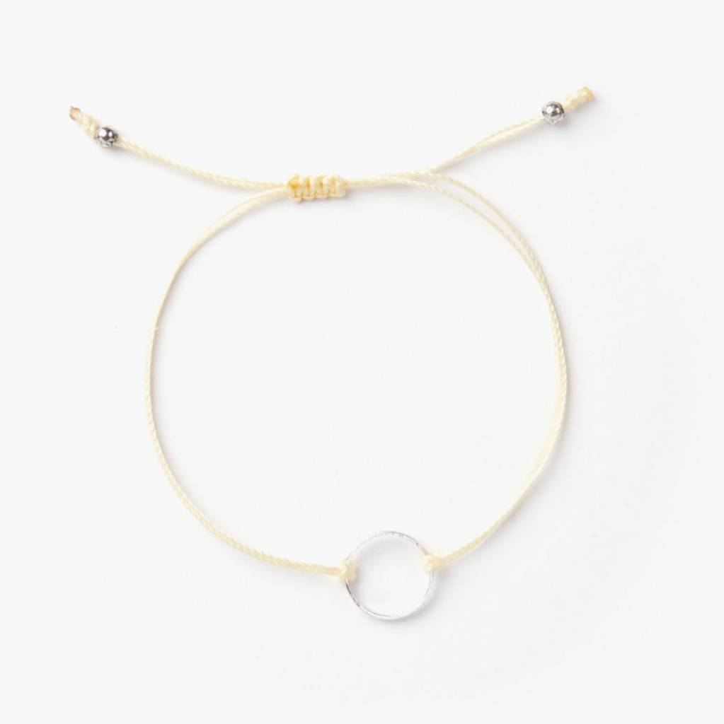 Si Simple Silver and Yellow Marilou Bracelet