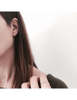 L'Aune Bijoux Silver Linéa Earrings
