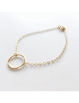 L'AUNE Full Moon Gold Bracelet