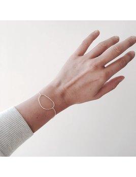 L'AUNE Silver Rocca Bracelet
