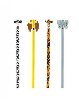 Kikkerland Safari Animal Pencil