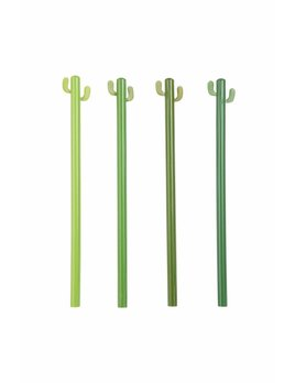 Kikkerland Cactus Pencil Set