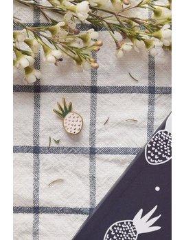 Mimi Hammer Pineapple Pin