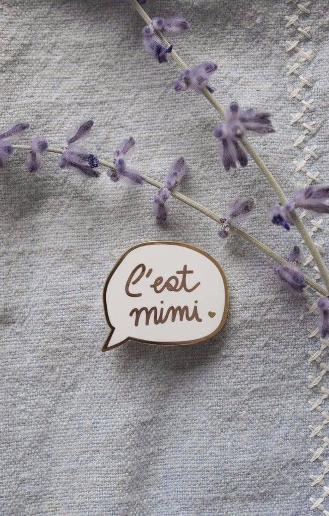 Mimi Hammer Épinglette C'est Mimi