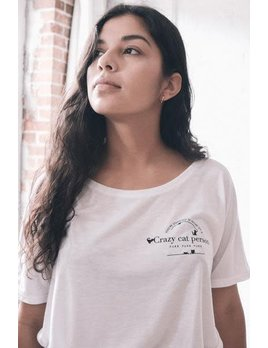 Mimi Hammer T-Shirt Cat Person