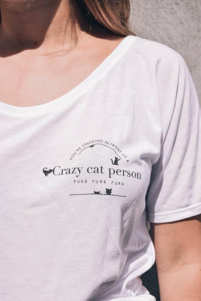 Mimi Hammer Cat Person T-Shirt