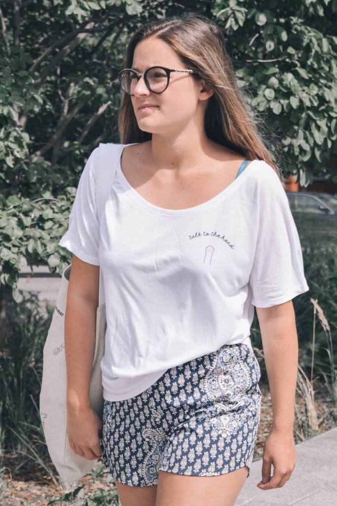 Mimi Hammer T-Shirt Talk To The Hand